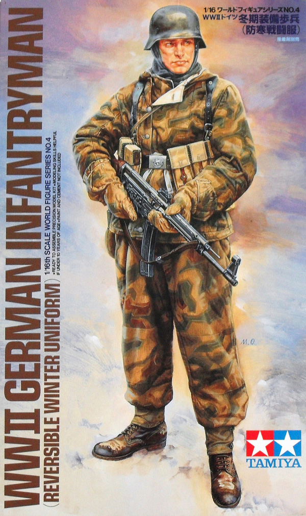 36304 GERMAN WINTER INFANTRYMAN