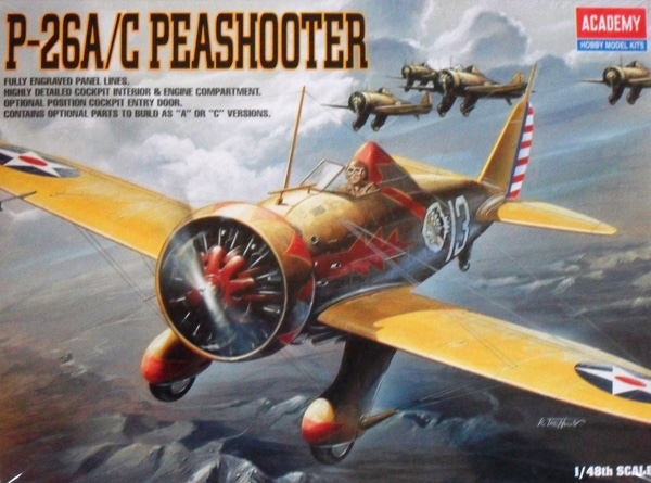 2179 P-26A/C PEASHOOTER