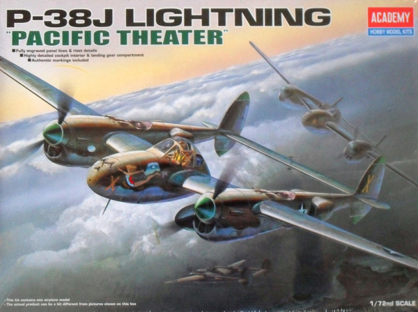 2209 P-38J LIGHTNING PACIFIC THEATRE