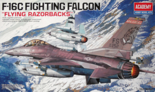 12204 F-16C FIGHTING FALCON FLYING RAZORBACKS