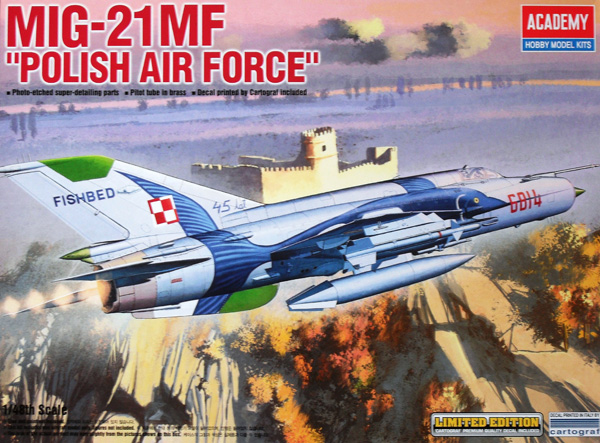 12224 MiG-21MF POLISH AIRFORCE