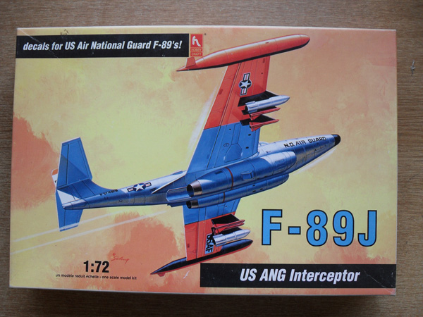 1377 F-89J US ANG INTERCEPTOR