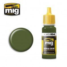AMMO BY MIG JIMENEZ  0004 B RESEDA GREEN 17ml ACRYLIC PAINT FOR BRUSH   AIRBRUSH