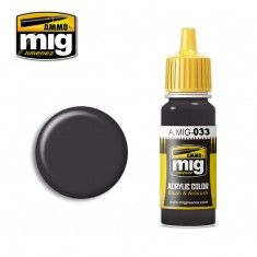 AMMO BY MIG JIMENEZ  0033 RUBBER   TYRES 17ml ACRYLIC PAINT FOR BRUSH   AIRBRUSH