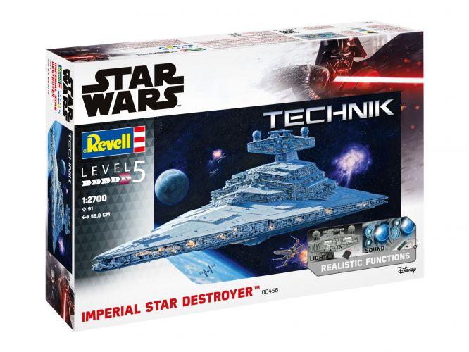 REVELL 1/2700 00456 STAR WARS IMPERIAL STAR DESTROYER - TECHNIK  UK SALE ONLY