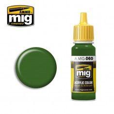 AMMO BY MIG JIMENEZ  0060 PALE GREEN 17ml ACRYLIC PAINT FOR BRUSH   AIRBRUSH