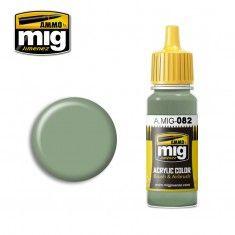 AMMO BY MIG JIMENEZ  0082 US APC INTERIOR GREEN 17ml ACRYLIC PAINT FOR BRUSH   AIRBRUSH