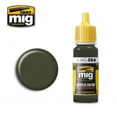 AMMO BY MIG JIMENEZ  0084 NATO GREEN 17ml ACRYLIC PAINT FOR BRUSH   AIRBRUSH