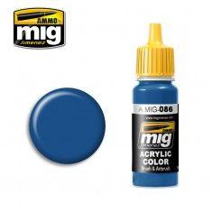 AMMO BY MIG JIMENEZ  0086 BLUE 17ml ACRYLIC PAINT FOR BRUSH   AIRBRUSH