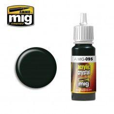 AMMO BY MIG JIMENEZ  0095 CRYSTAL SMOKE 17ml ACRYLIC PAINT FOR BRUSH   AIRBRUSH
