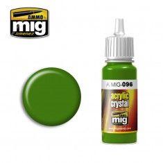 AMMO BY MIG JIMENEZ  0096 CRYSTAL GREEN PERISCOPE 17ml ACRYLIC PAINT FOR BRUSH   AIRBRUSH