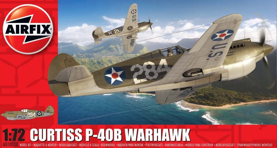 AIRFIX 1/72 01003B CURTISS P- 40B WARHAWK