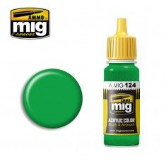 AMMO BY MIG JIMENEZ  0124 LIME GREEN 17ml ACRYLIC PAINT FOR BRUSH   AIRBRUSH