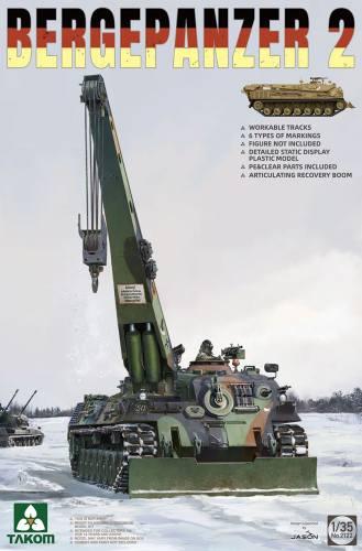 TAKOM 1/35 02122 Bergepanzer 2