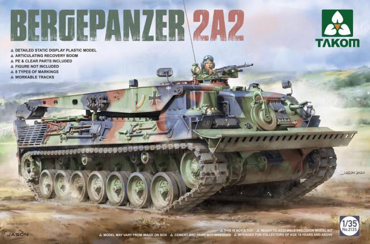 TAKOM 1/35 2135 Bergepanzer 2A2