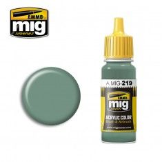 AMMO BY MIG JIMENEZ  0219 INTERIOR GREEN 17ml ACRYLIC PAINT FOR BRUSH   AIRBRUSH