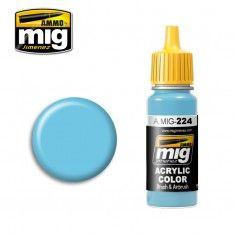 AMMO BY MIG JIMENEZ  0224 SKY LINE BLUE A II 17ml ACRYLIC PAINT FOR BRUSH   AIRBRUSH