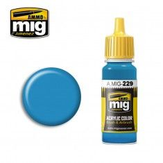 AMMO BY MIG JIMENEZ  0228 INTERMEDIATE BLUE  ANA 608  17ml ACRYLIC PAINT FOR BRUSH   AIRBRUSH