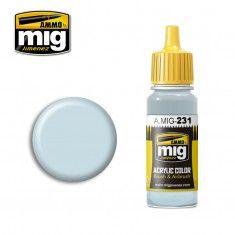 AMMO BY MIG JIMENEZ  0231 BRIGHT BLUE 17ml ACRYLIC PAINT FOR BRUSH   AIRBRUSH