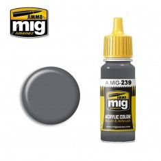 AMMO BY MIG JIMENEZ  0239 NEUTRAL GREY 17ml ACRYLIC PAINT FOR BRUSH   AIRBRUSH
