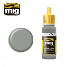 AMMO BY MIG JIMENEZ  0241 LIGHT GULL GREY 17ml ACRYLIC PAINT FOR BRUSH   AIRBRUSH