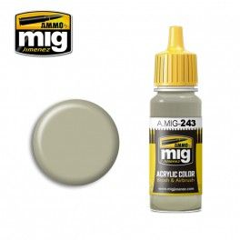 AMMO BY MIG JIMENEZ  0243 SKY TYPE S 17ml ACRYLIC PAINT FOR BRUSH   AIRBRUSH