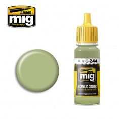 AMMO BY MIG JIMENEZ  0244 DUCK EGG GREEN 17ml ACRYLIC PAINT FOR BRUSH   AIRBRUSH