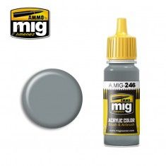 AMMO BY MIG JIMENEZ  0246 MEDIUM SEA GREY 17ml ACRYLIC PAINT FOR BRUSH   AIRBRUSH