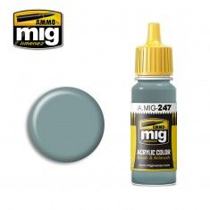 AMMO BY MIG JIMENEZ  0247 LIGHT BLUE 17ml ACRYLIC PAINT FOR BRUSH   AIRBRUSH