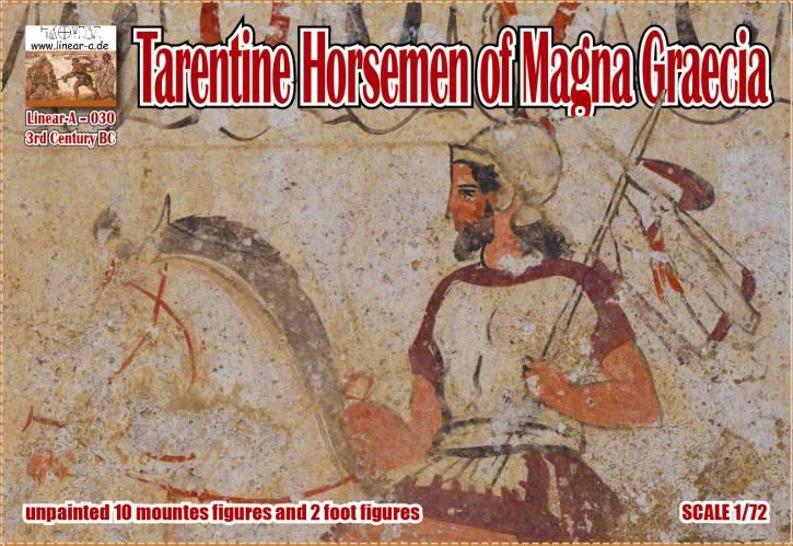 LINEAR-A 1/72 030 Tarentine Horsemen of Magna Graecia 3rd Century BC