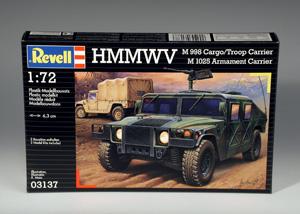 REVELL 1/72 03137 HMMWV M998   M1025