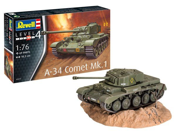 REVELL 1/76 03317 A-34 COMET MK.I