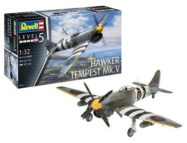 REVELL 1/32 03851 HAWKER TEMPEST MK.V