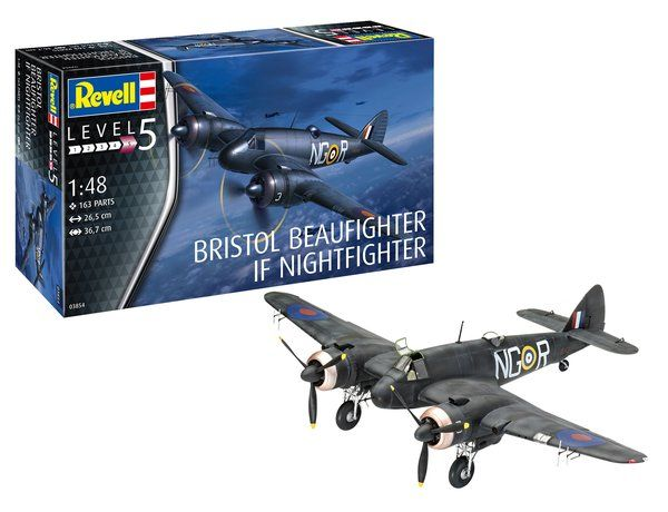 REVELL 1/48 03854 BRISTOL BEAUFIGHTER IF NIGHTFIGHTER