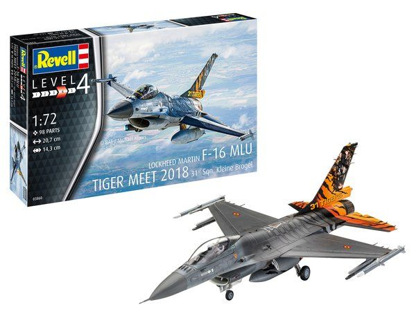 REVELL 1/72 03860 F-16 MLU TIGER MEET 2018