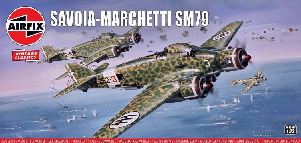 AIRFIX 1/72 A04007V VINTAGE CLASSICS SAVOIA-MARCHETTI SM79