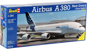 REVELL 1/144 04218 AIRBUS A380 FIRST FLIGHT