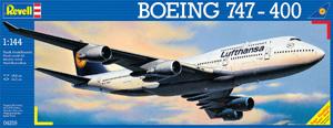 REVELL 1/144 04219 BOEING 747-400 LUFTHANSA