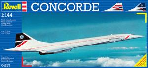 REVELL 1/144 04257 CONCORDE BA