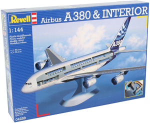 REVELL 1/144 04259 AIRBUS A380   INTERIOR