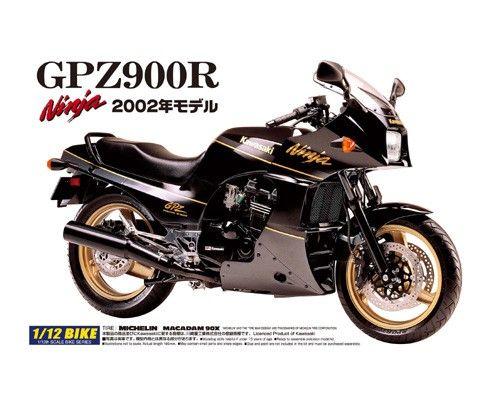AOSHIMA 1/12 04287 KAWASAKI GPZ900R NINJA 2002
