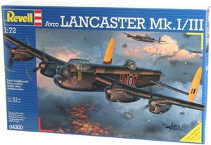 REVELL 1/72 04300 AVRO LANCASTER Mk.I/III