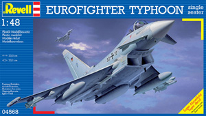 REVELL 1/48 04568 EUROFIGHTER TYPHOON SINGLE SEAT