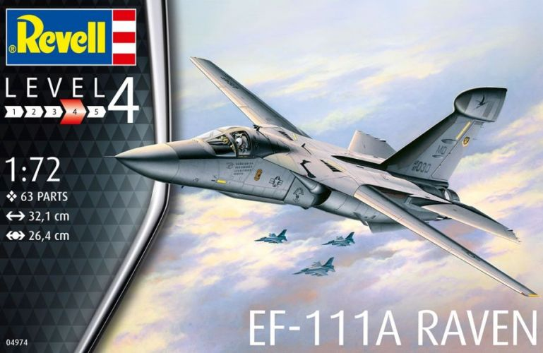 REVELL 1/72 04974 EF-111A RAVEN