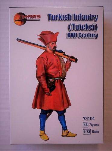 MARS 1/72 72104 TURKISH INFANTRY  TUFEKEI   XVII CENTURY