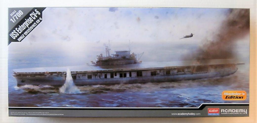 ACADEMY 1/700 14224 USS ENTERPRISE CV-6 MODELLERS EDITION