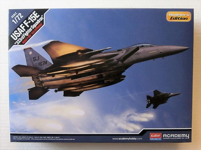 ACADEMY 1/72 12550  USAF F-15E 333RD FIGHTER SQUADRON