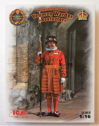 ICM 1/16 16006 YEOMAN WARDER BEEFEATER