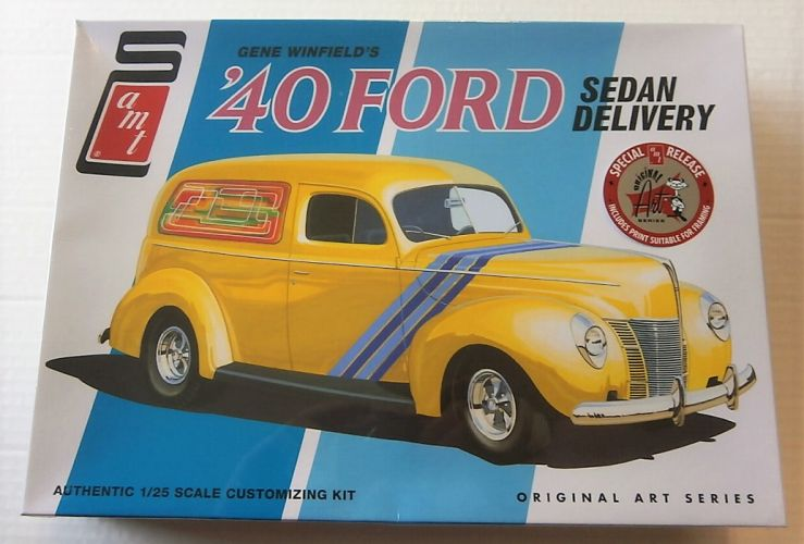 AMT 1/25 769 GENE WINFIELDS 1940 FORD SEDAN DELIVERY