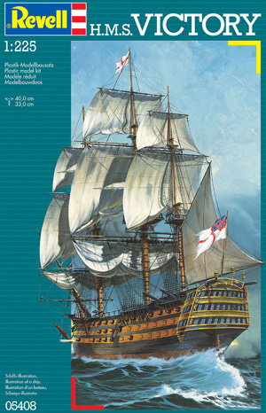 REVELL  05408 HMS VICTORY 1/146